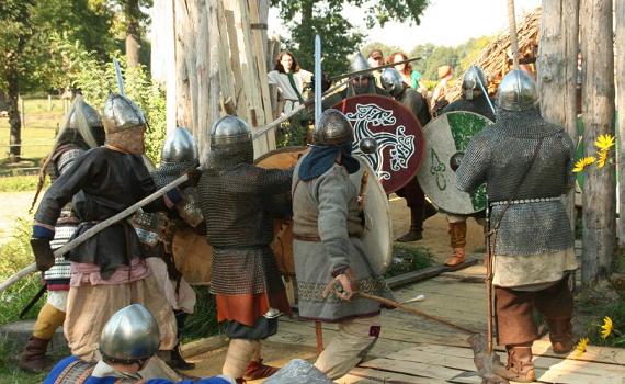 slawische Krieger in Dissen